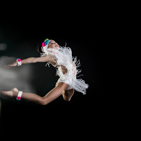 Levitation Princess by Daniel Craig Johnson - Sports & Fitness Other Sports ( sports, ballet, africa, light, dance )