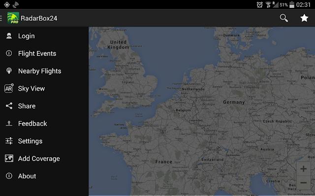 RadarBox24 Pro - screenshot