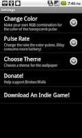 Screenshot of Honeycomb Livepaper Lite