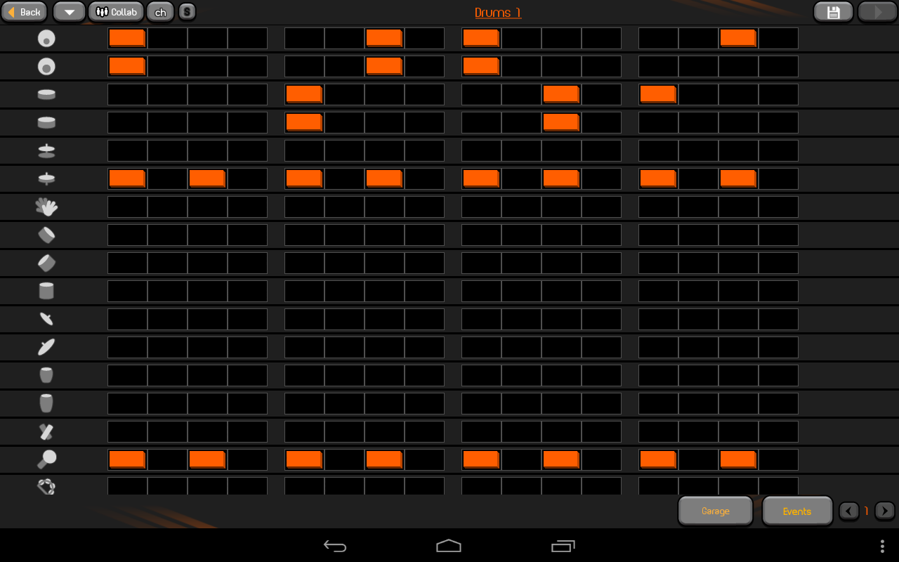 PocketBand Pro - Social DAW- screenshot