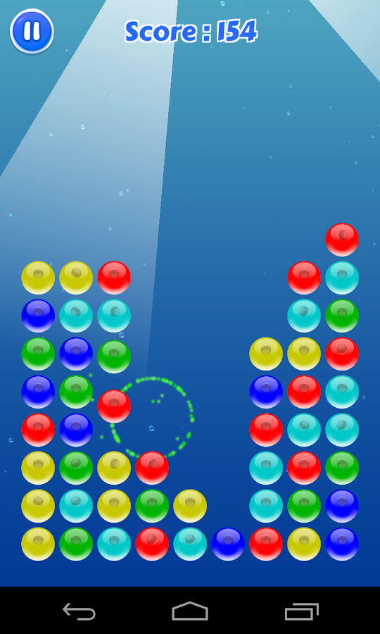 Bubble Crush Underwater- screenshot