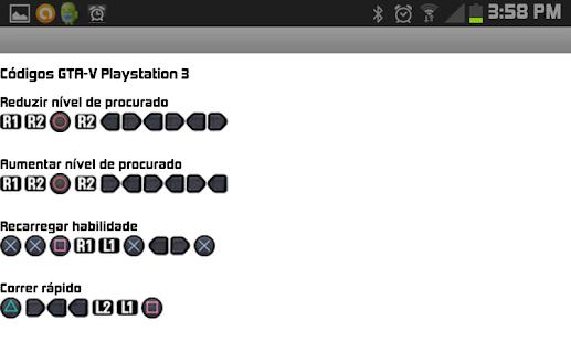 código de gta 5 para ps3