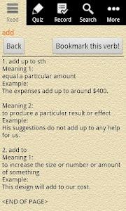 English Grammar – Phrasal Verb v1.0.3