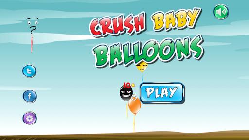 Crush baby balloons