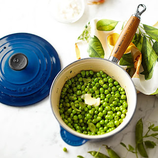 English Peas with Fresh Mint.