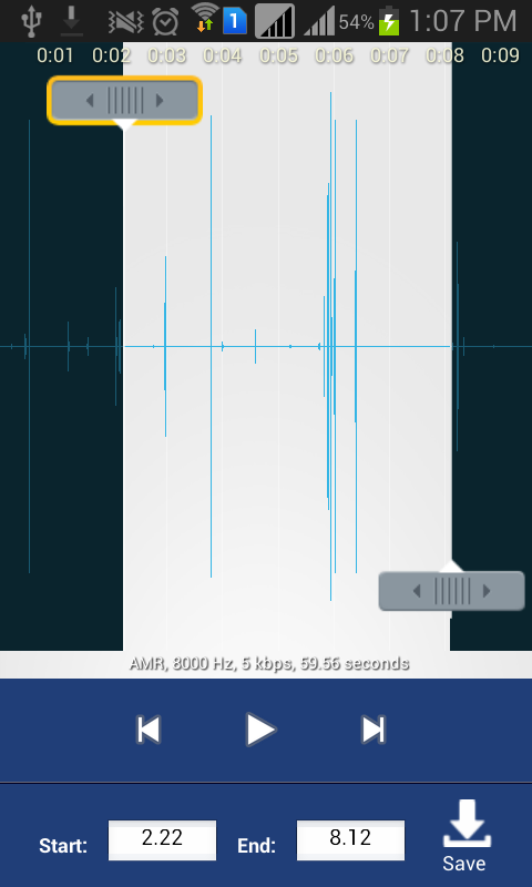 Riva Voice Recorder Pro- screenshot