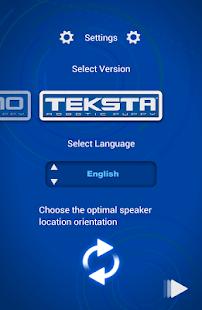 Tekno/Teksta App screenshot