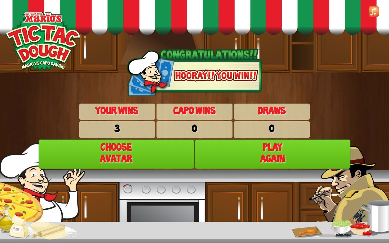 Tic Tac Dough: Mario vs Capo 2- screenshot
