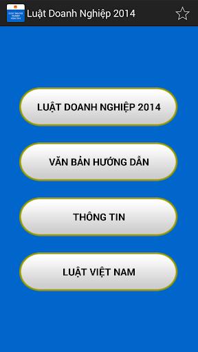 Luat Doanh nghiep VN 2014