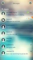 Screenshot of GO SMS PRO CIRCLE THEME