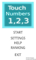Screenshot of Touch Numbers 1,2,3