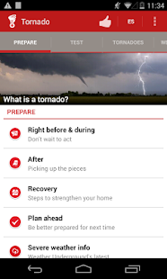 Tornado - American Red Cross - screenshot thumbnail
