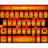 Theme TouchPal Led Orange
