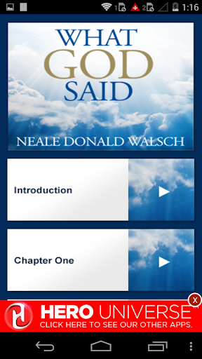 What God Said Audiobook NDW