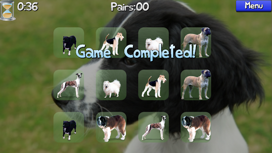 Dog Pairs - Memory Match Game- screenshot thumbnail