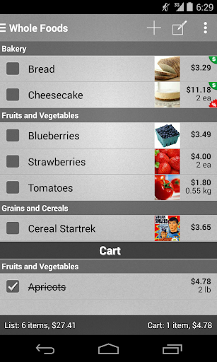 Mighty Shopping List Free