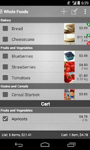 Mighty Shopping List Free screenshot 0