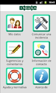INGSA - Incidencias - náhled