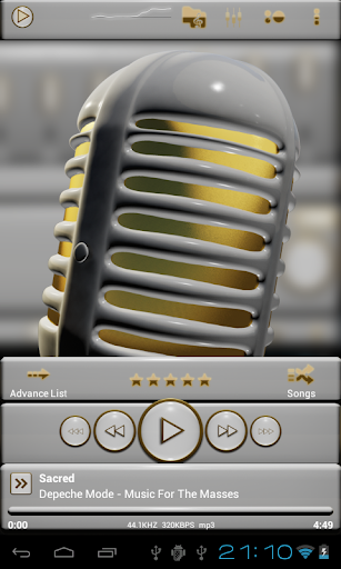 黄金白后皮肤|玩音樂App免費|玩APPs