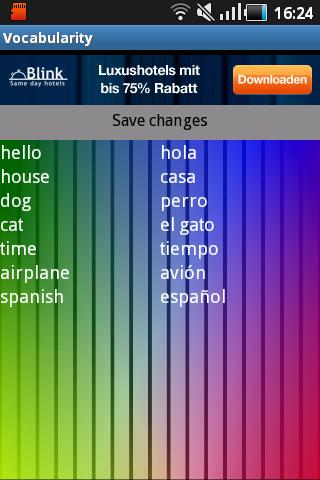 Vocabularity Free - screenshot