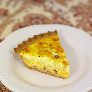 Honey Ham & Cheese Quiche