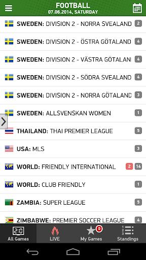 Calcio Mondiale Live