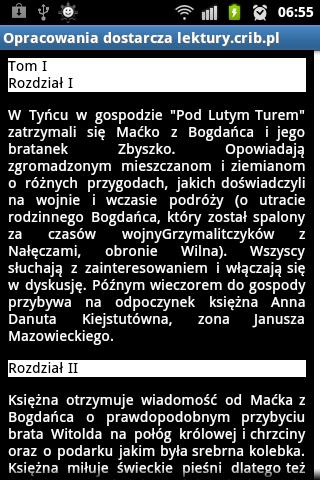Streszczenia Lektur PRO- screenshot