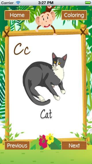 Animal Alphabets ABC Poem Kids - screenshot