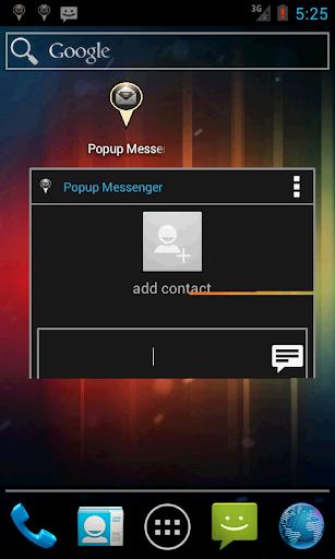 Popup Messenger