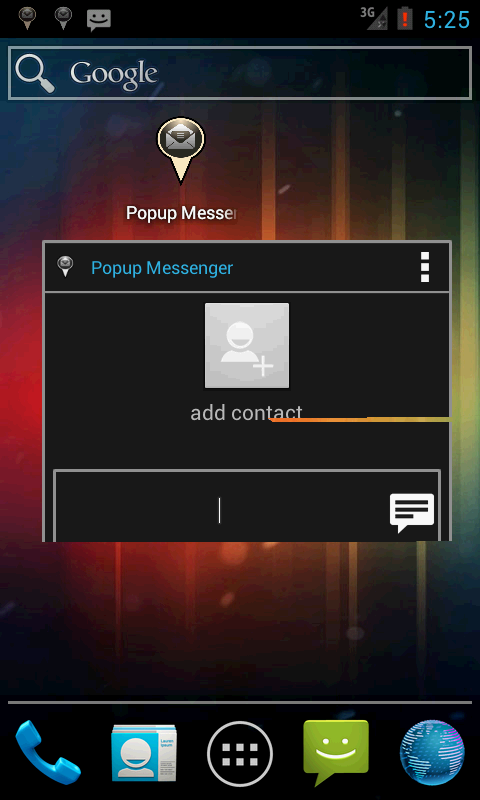 Popup Messenger- screenshot