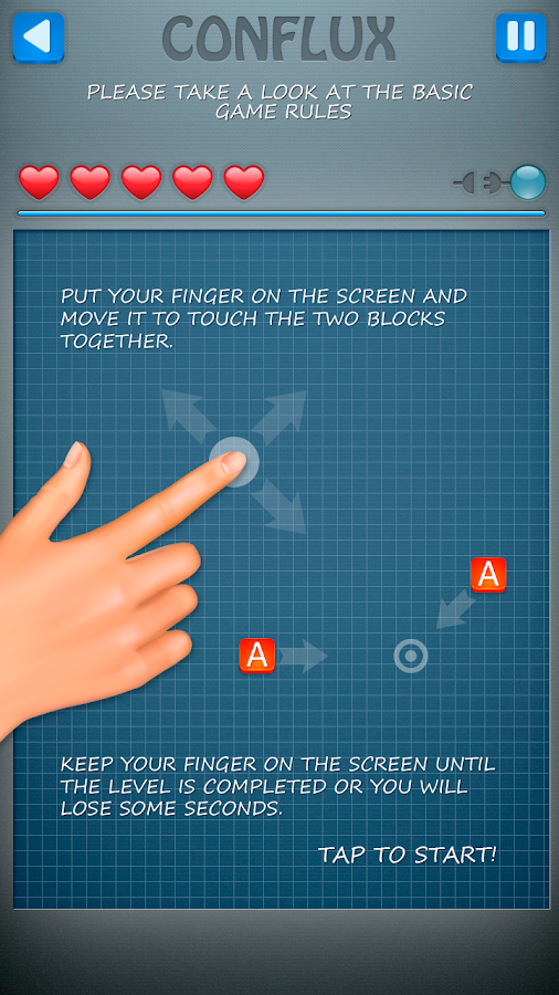 CONFLUX: Blocks Best Game- screenshot