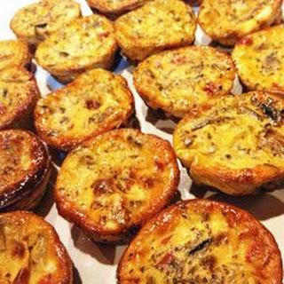 Vegetable Frittata Muffins.