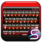 SlideIT Red Digital Skin 4.0 Apk