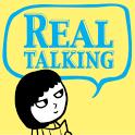 English Restart REAL talking icon