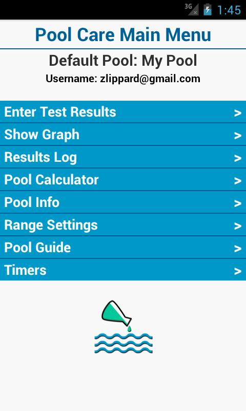 Pool Care - screenshot