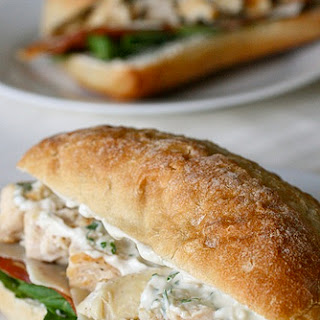 Chicken Caesar Club Sandwiches