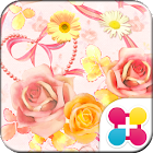 Girly Wallpaper Rose Garden icon