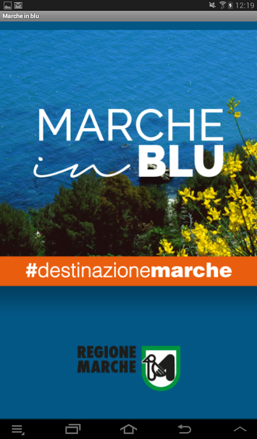Marche in Blu- screenshot