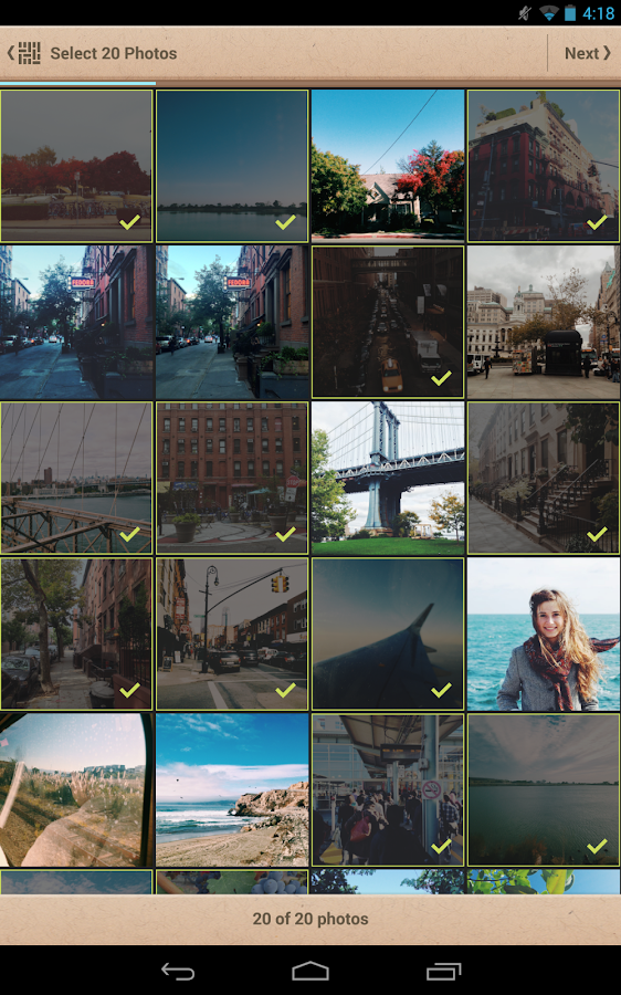 Mosaic Photo Books - screenshot