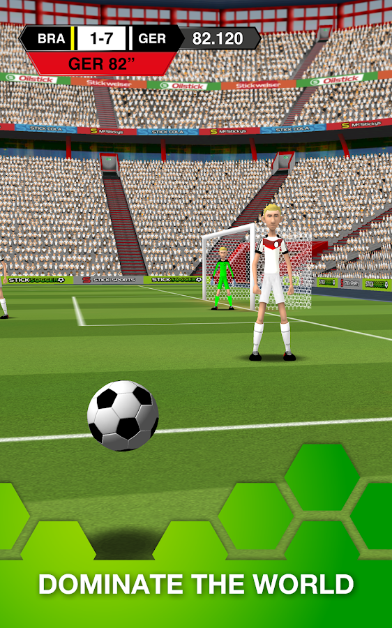 Stick Soccer- screenshot