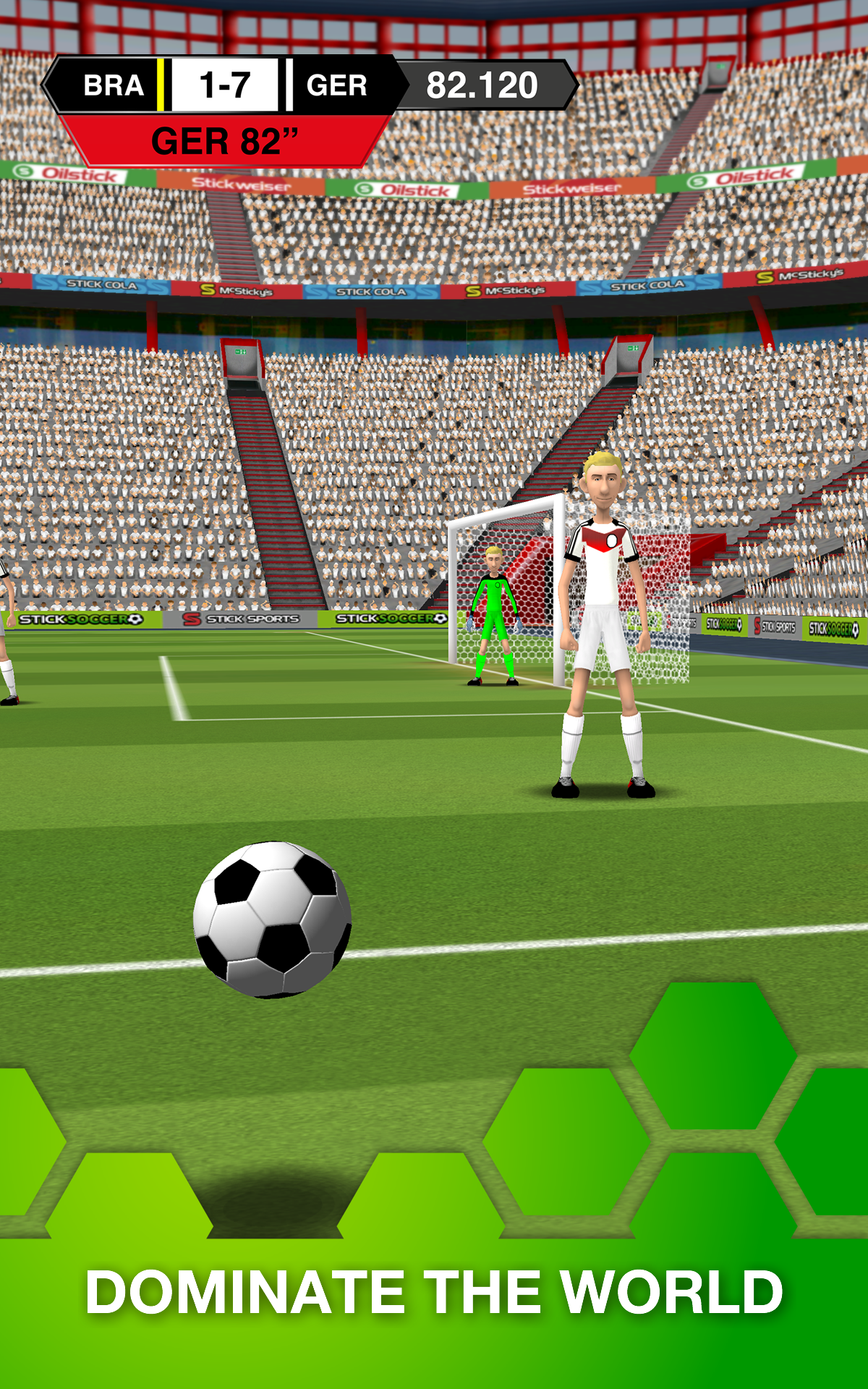 Stick Soccer screenshot #14