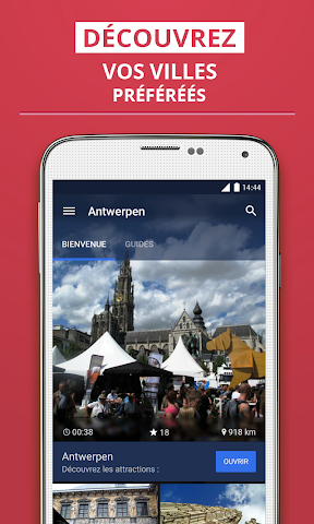 Screenshot 1 Antwerpen Reiseführer