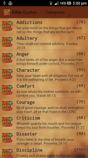 Holy Bible Quotes Verses