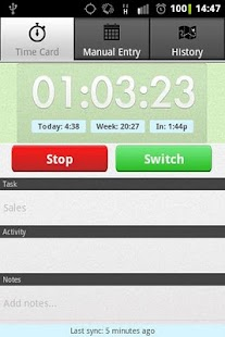 Employee Time Tracker with GPS - screenshot thumbnail