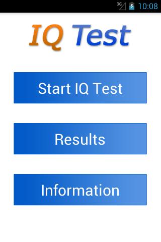 IQ Test intelligence