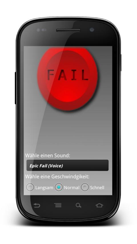 FAIL Button Widget Soundboard - screenshot