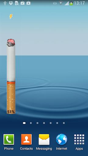 香煙 - 電池WIDGET