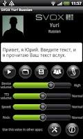 Screenshot of SVOX Russian Yuri Trial