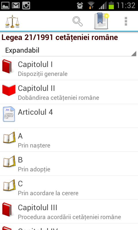 Legislativ - screenshot