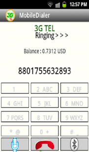 3GTel  Dialer- screenshot thumbnail